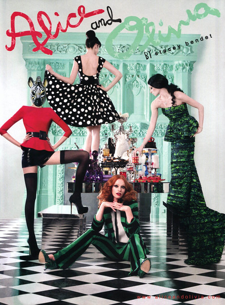 2012 ALICE & OLIVIA by Stacey Bendet Fall-Winter fashion: US (Elle)