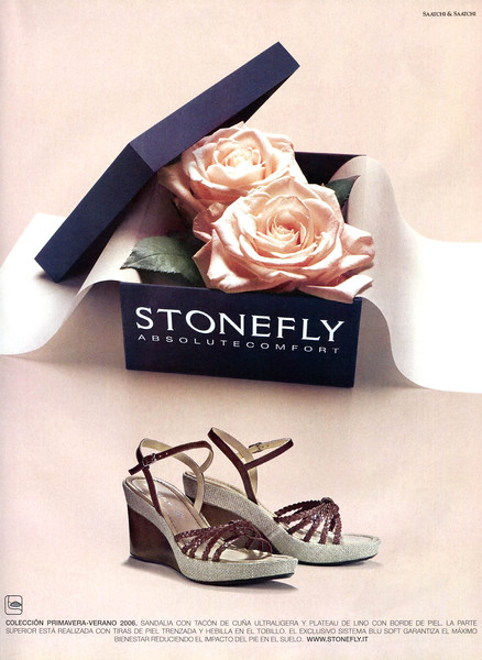 2006 STONEFLY shoes Spain (Elle)