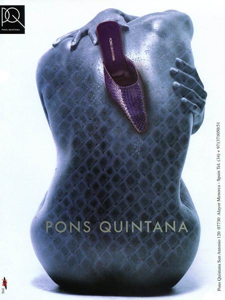 2002 PONS QUINTANA footwear: Spain (Vogue)