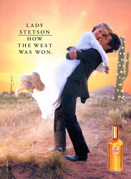 1994 COTY Lady Stetson fragrance: US