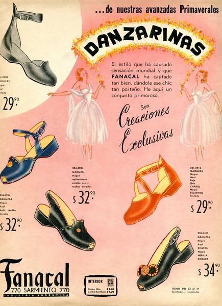 1948 DANZARINAS shoes Argentina (Para Ti)