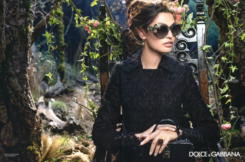2015 DOLCE & GABBANA fashion campaign fall-winter 2014-2015 Spain (Elle)