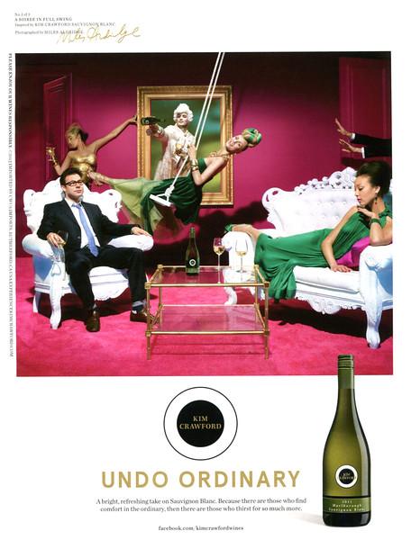2012 KIM CRAWFORD Sauvignon Blanc wine: US (In Style)
