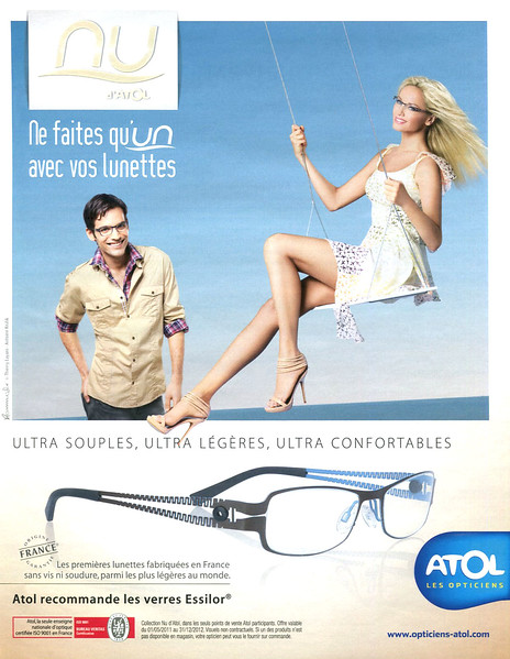 2011 ATOL Nu spectacles: France (Marie Claire)