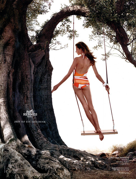 2012 Hermès Sprng-Summer Germany (Vogue) featuring Bette Franke by Nathaniel Goldberg