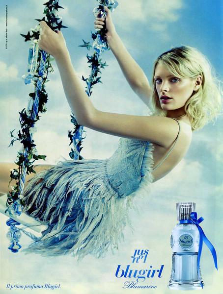 2010 BLUMARINE Blugirl Jus nº1 fragrance Italy