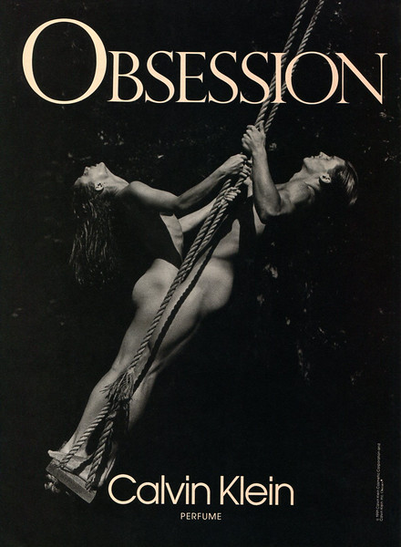 1992 CALVIN KLEIN Obsession fragrance US