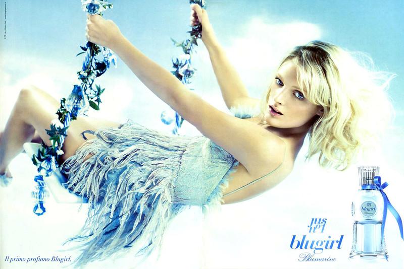 2010 BLUMARINE Blugirl Jus nº1 fragrance Italy spread
