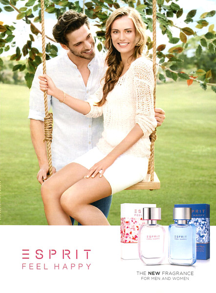 2014 ESPRIT Feel Happy fragrance Germany (Glamour)