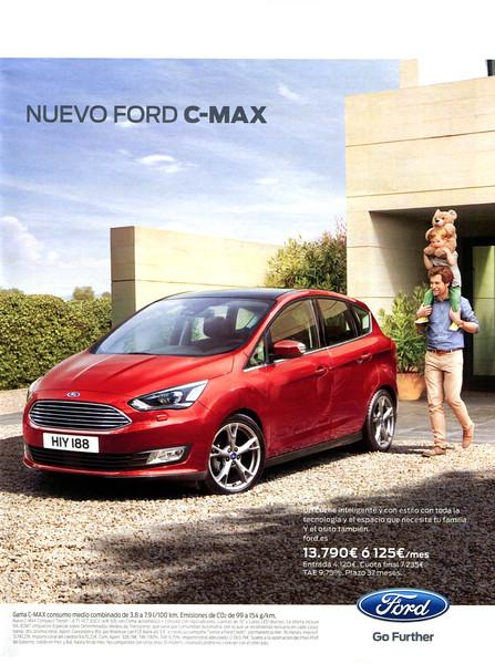 2015 FORD C-Max cars: Spain (Hola Niños)