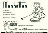 1961 MANHATTAN Odag vacuum cleaner: Spain (half page Hola)