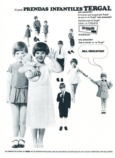 1968 TERGAL children's wear: Spain (Telva)