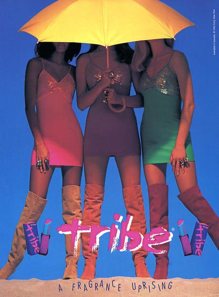 1992 COTY Tribe fragrance Canada
