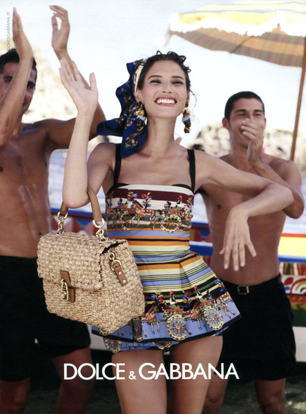 2013 DOLCE & GABBANA spring collection: Italy (Glamour) featring Bianca Balti