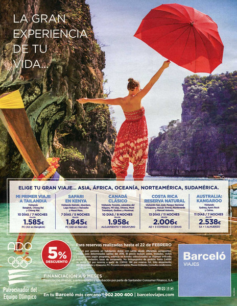 2015 BARCELÒ travel agency Spain (Dominical)