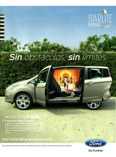 2013 FORD B-Max cars: Spain (Hola)