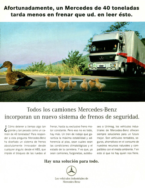 1995 MERCEDES BENZ trucks Spain (Dominical)