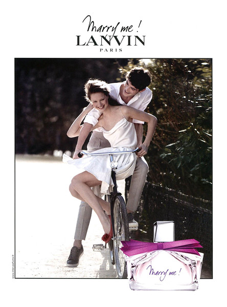 2010 LANVIN Marry Me fragrance: France