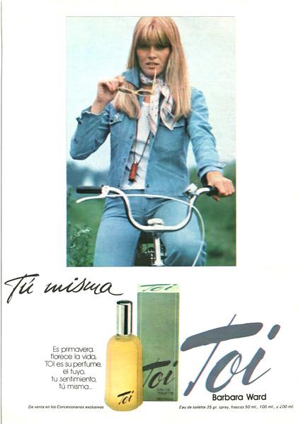 BARBARA WARD Toi 1978 Spain 'Tú misma - En promavera florece la vida'