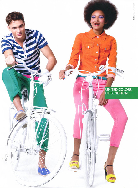 2012 BENETTON clothing  Spain (Elle)