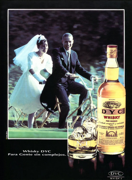 1992 DYC whisky: Spain (Lecturas)