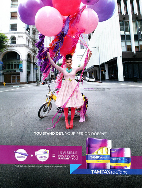 2012 TAMPAX tampons US (In Style)