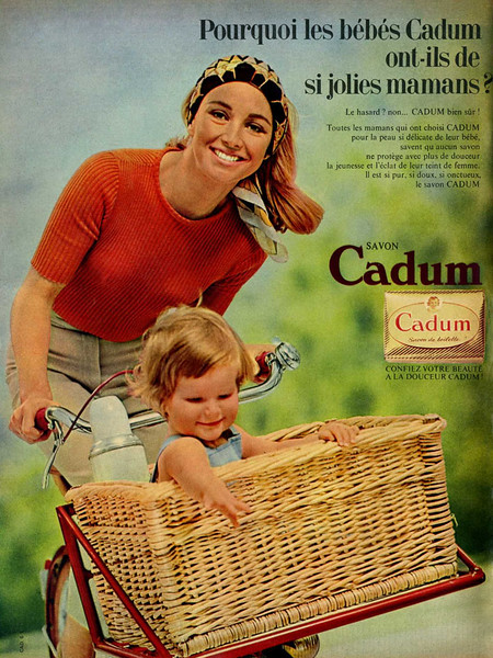 1965 CADUM soap France