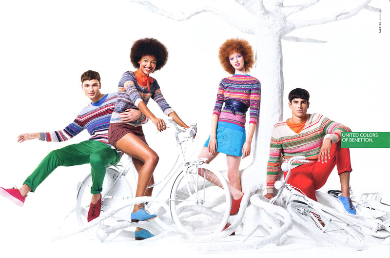 2012 BENETTON clothing UK (spread Cosmopolitan)