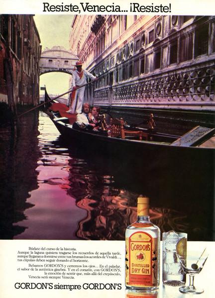 1981 GORDONS gin Spain