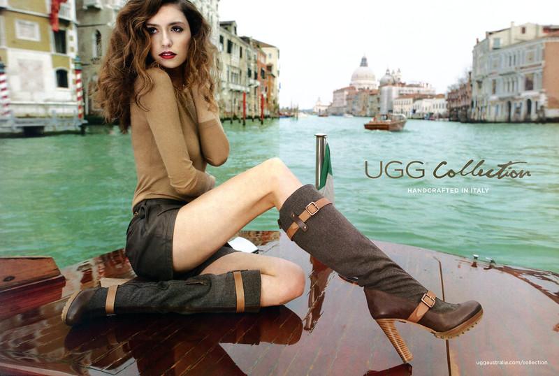 2011 UGG footwear US (spread Elle)