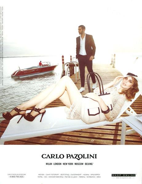 2014 CARLO PAZOLINI clothing Russia (Maxim)