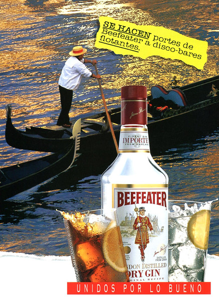 1996 BEEFEATER gin Spain (Elle)