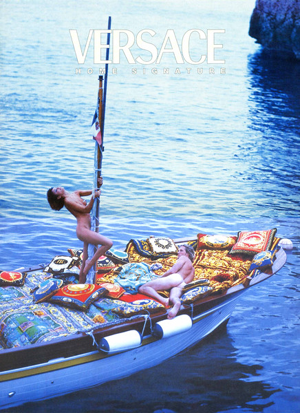 1995 VERSACE Home Signature Spain (El Mundo Magazine)