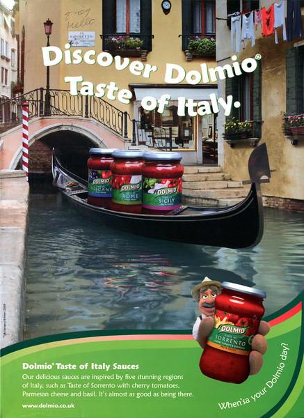 2009 DOLMIO tomato sauce: UK (Hello)