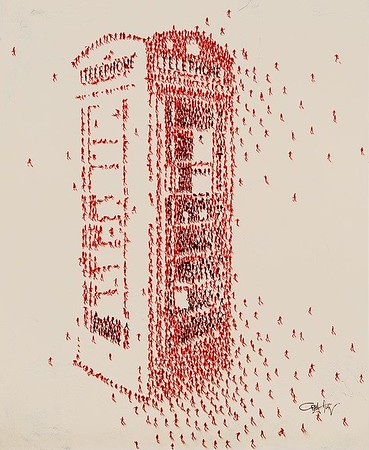 Populus, Telephone Booth-Alan, 60x48