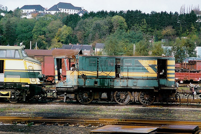 8508 at Salzinnes Works on 30th October 1998