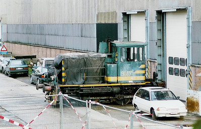 9147 at Salzinnes Works on 30th October 1998
