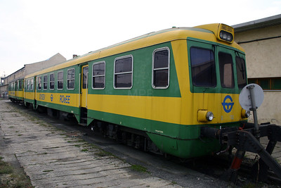GySEV, Ba 702 at Sopron Depot on 2nd October 2004