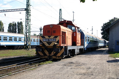 M43 1054 at Nagykanizsa on 30th September 2004