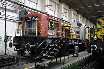 1) GySEV, V40 401 at Sopron Depot on 2nd October 2004