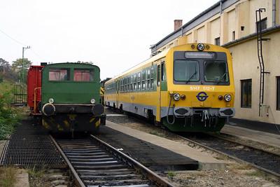 GySEV, 5147 512 at Sopron Depot on 2nd October 2004
