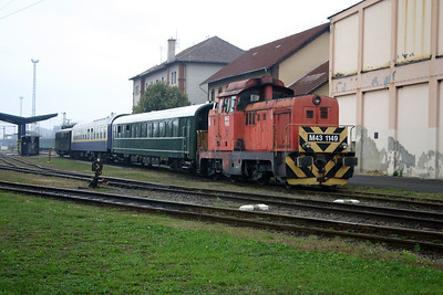 M43 1149 at Dombovar Depot on 30th September 2004