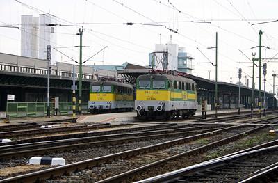 GySEV, V43 322 & V 43 330 at Sopron on 2nd October 2004