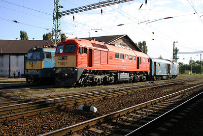 M62 151 at Nagykanizsa Depot on 30th September 2004