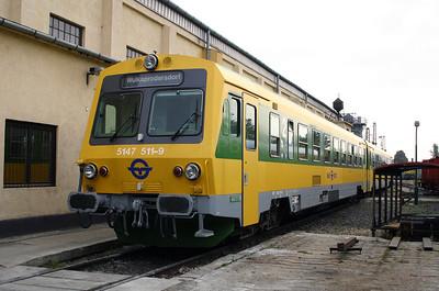 GySEV, 5147 511 at Sopron Depot on 2nd October 2004