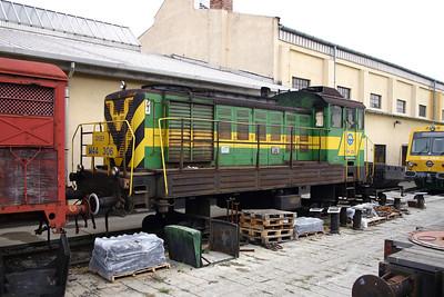 GySEV, M44 306 at Sopron Depot on 2nd October 2004