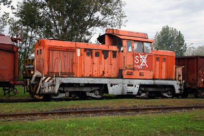 M43 1135 at Dombovar Depot on 30th September 2004