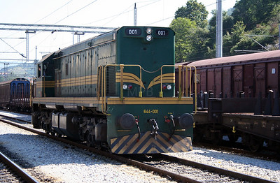 4) 644 001 at Dimitrovgrad on 9th September 2005