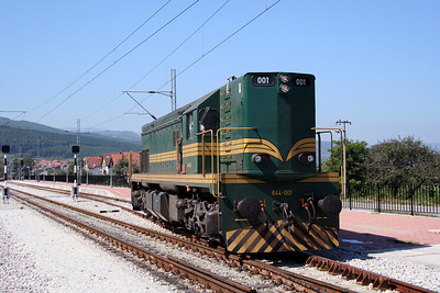 2) 644 001 at Dimitrovgrad on 9th September 2005