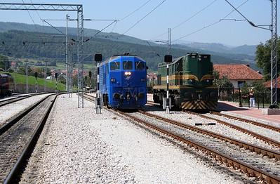 3) 666 003 at Dimitrovgrad on 9th September 2005